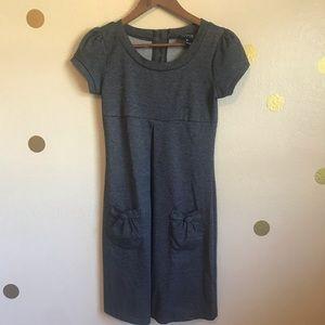 Dresses & Skirts - Black and Grey Dress. Size 4P.